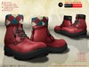 A&D Clothing - Boots -Hammer- Reddish