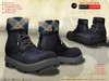 ! a d clothing   boots  hammer   navy