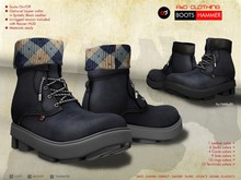 A&D Clothing - Boots -Hammer- Navy