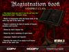 Registration Book - Vampire clan