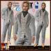 ALB ALB GABRIEL suit grey by AnaLee Balut