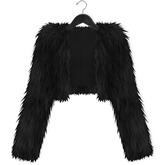 Mimikri - Diva Fur Jacket black