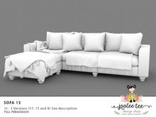 SUMMER SALE 50% OFF - Joolee Tee Builders - Sofa 12