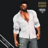 MCM - Shirt White AESTHETIC