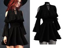 Mossu - Miranda.Dress - Black (Wear)
