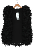 "Asteria ""Love"" [Maitreya-Belleza-HG-Legacy] Fur Coat - Black"