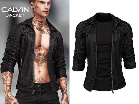 Mossu - Calvin Jacket - Black