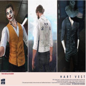 [Deadwool] Hart vest - Dark pack