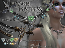 ※DRAGON MISTRESS :: Necklace :: Color Control