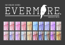 (add-on) EVERMORE. [ infernum.horns - pastel.HUD ] -  wear me