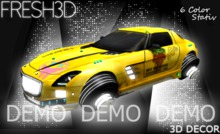 Fresh3D Sci-Fi Car DEMO