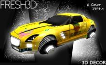 Fresh3D Sci-Fi Car