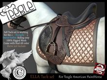 (*.*) ELLA tack set Teegle paintHorse Animesh v2- wear  unpack