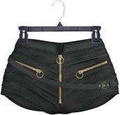 adorsy - Amaya Leather Shorts Black - Maitreya/Legacy