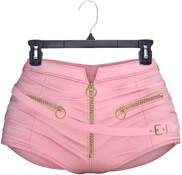adorsy - Amaya Leather Shorts Pink - Maitreya/Legacy