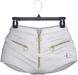 adorsy - Amaya Leather Shorts White - Maitreya/Legacy