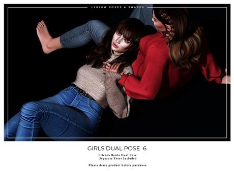 Lyrium. Girls Dual Pose 6
