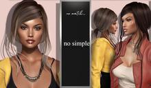 no.match_ ~ NO_SIMPLE ~ Pack of BLACKS