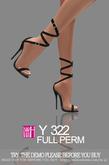[Y]Full Perm 322 shoes