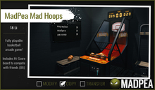 MadPea Mad Hoops