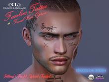 -[CL]- Fearless Face Tattoo (BOM/CATWA/OMEGA) + Beard