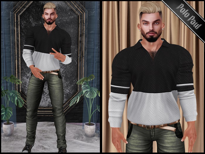 (MALE COMPLETE OUTFIT) STRESSED OUT /SLINK/SIGNATURE