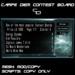 Carpe Diem Contest Board SPECTRA (mesh)