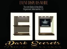 Dark Secrets - Event & Shop Displays White
