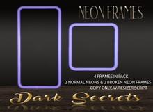 Dark Secrets - Neon Frames Blue