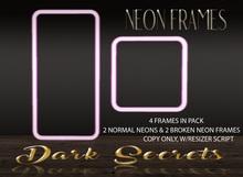 Dark Secrets - Neon Frames Pink