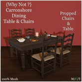 {Why Not ?} Carronshore Dining Table-Boxed