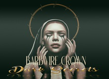 Dark Secrets - Barbwire Halo Crown