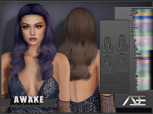 Ade - Awake Hairstyle (Pastels)
