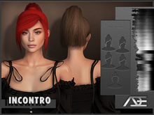 Ade - Incontro Hairstyle (Greyscale)