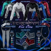 7. [CX] Vice Crew / Shorts - Black / Maitreya