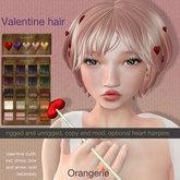 Orangerie - Hair - Valentine