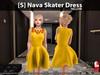 [S] Nava Skater Dress Yellow