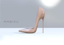 A R B I Z U Classic Stiletto -BEIGE- PACKAGED