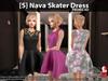 s  nava skater dress promo pic