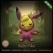 [C] Animesh Follower - Baby Pika (Wear)