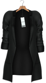 "Asteria""Ash""[Maitreya-Belleza-HG-Legacy] Jacket - Black"