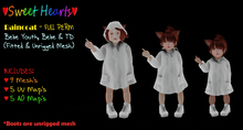 {SH} Raincoat (Bebe Youth & Bebe Fitted & TD Fitted) FULL PERM