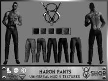 +DEMO+V8 SHOP+HARON PANTS UNIVERSAL HUD 5 TEXTURES