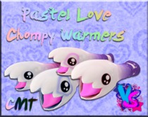 Chompy Warmers - Pastel Love Mod