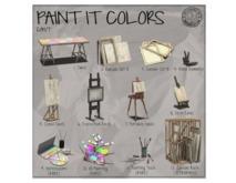 [IK] Paint It Colors - 02. Canvas Set A - COMMON (boxed)