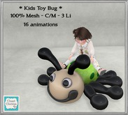 *CC* Kids Toy Bug  [boxed]