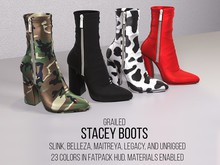 [G] Stacey Boots Fatpack