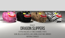 [G] Dragon Slippers Fatpack