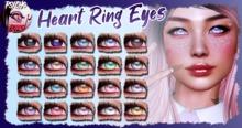 .:PP:. - Heart Ring Eyeset For Genus and Catwa (WEAR ME!)