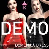 .KIMBRA. - DOMENICA LATEX DRESS [DEMO]
